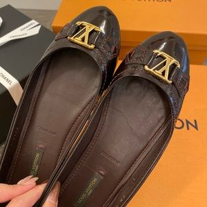 Louis Vuitton Oxford Ballerina Flats Size 37